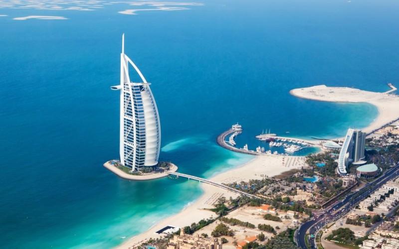 Hotels at Buj arab