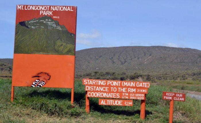 Safari tours at Mt Longonot